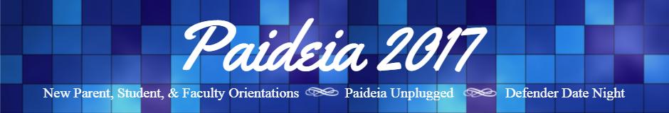 Paideia 2017 Banner