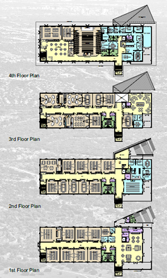 Academic Building Floor Plans