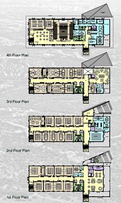Academic Building Floor Plans